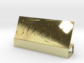 Saüs V.2 in 18K Gold Plated