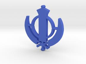 Kundalini Shakti in Blue Processed Versatile Plastic