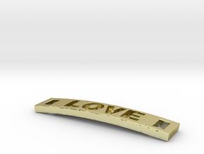 Love Bracelet in 18K Gold Plated