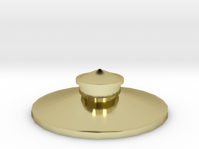 Z Scale Roof for Water Tank Tower FS Railways in 18K Gold Plated
