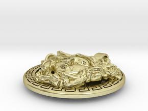 Medusa pendant in 18K Gold Plated