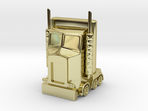 My Little Optimus Prime in 18K Gold Plated