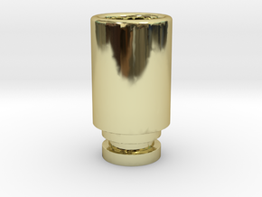Simplistic 510 driptip in 18K Gold Plated
