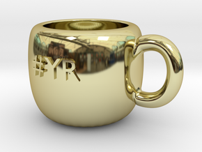 #YR Mug in 18K Gold Plated