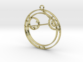 Angela - Necklace in 18K Gold Plated