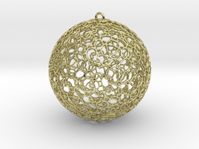 Ornament K0003 in 18K Gold Plated