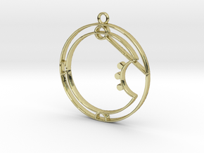 Aria - Necklace in 18K Gold Plated