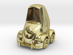 Beetle Bug in 18K Gold Plated