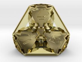 Premier Die4 in 18K Gold Plated