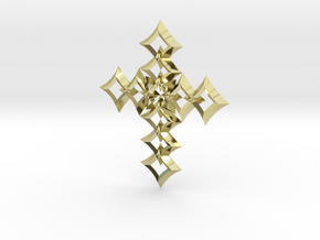 cross 05 in 18K Gold Plated