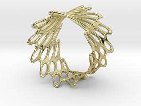 Net Bracelet in 18K Gold Plated