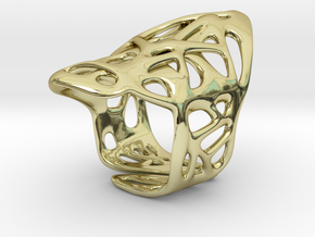 The Weave Ring in 18K Gold Plated