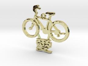 Bike Love in 18K Gold Plated