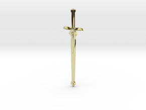 Kirito's Dark Repulser Sword in 18K Gold Plated