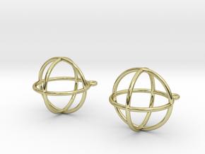 Orbit Earrings in 18K Gold Plated