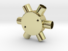 Six Way Junction box in 18K Gold Plated