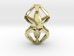 HEART TO HEART Heartonaut, Pendant in 18K Gold Plated