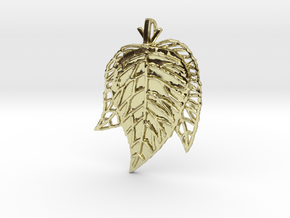 Leaves Trio in 18K Gold Plated