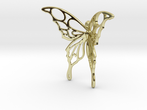Flying Tattoo in 18K Gold Plated