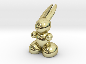Rabbit Robot in 18K Gold Plated
