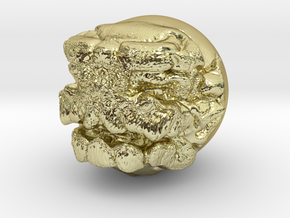 Demon ball collectible in 18K Gold Plated