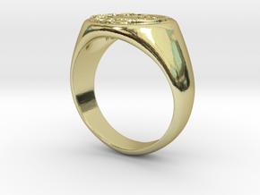 Size 7 Targaryen Ring in 18K Gold Plated
