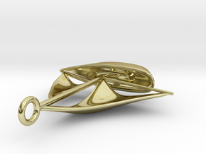 Sailboat pendant in 18K Gold Plated