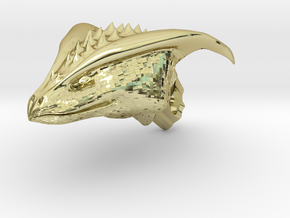Dragon Head pendant in 18K Gold Plated