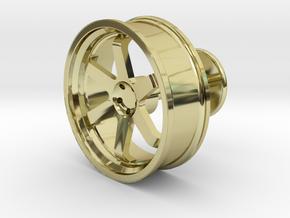 TE37 Wheel Cufflink in 18K Gold Plated