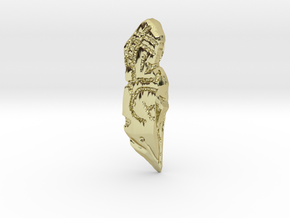 TF Allspark Shard in 18K Gold Plated