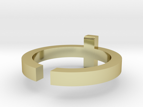 (USA) 9 Cross  - Multiple Sizes in 18K Gold Plated