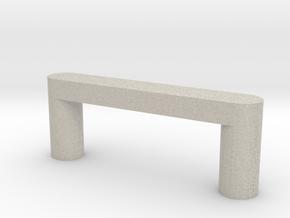 Modern Cabinet Handle in Natural Sandstone
