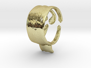 Cute Cat Ring in 18K Gold Plated