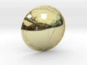 Voyagers Omni Belt Buckle in 18K Gold Plated
