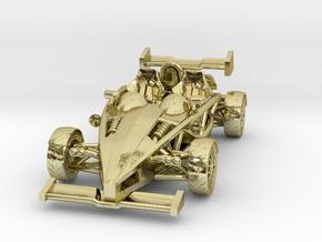 "Atom HO scale model w/wings 1.7"" LHD in 18K Gold Plated"