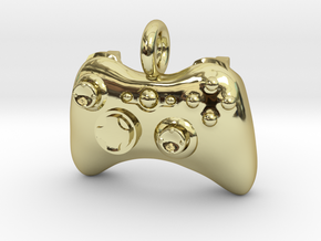 XBox 360 Controller Pendant in 18K Gold Plated