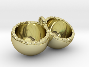 Coconut in 18K Gold Plated