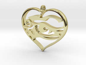 Heart and Soul in 18K Gold Plated