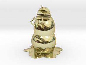 Mutan Man-eating Snowman Pen Holder in 18K Gold Plated