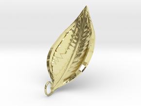 Leaf Necklace 1  in 18K Gold Plated