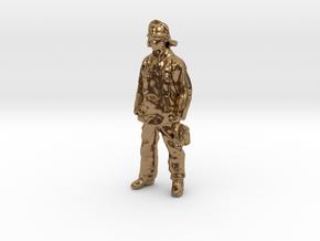 Fireman Joe in Natural Brass