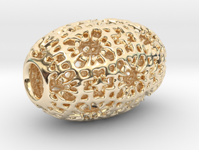 PA Sharm V4 H22x14SE87u1v1a10f Wax in 14k Gold Plated Brass