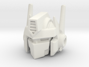 Combiner Wars Optimus Prime MP-10 Styled Head in White Natural Versatile Plastic