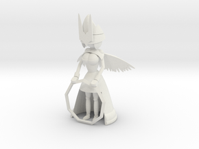 Angelic Guardian in White Natural Versatile Plastic