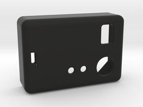 SX350 1550P Hammond Lid V2 in Black Natural Versatile Plastic
