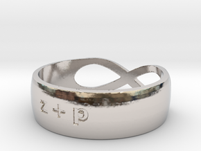 The Wedding Band in Platinum