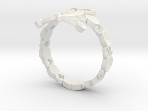 RING315 in White Strong & Flexible