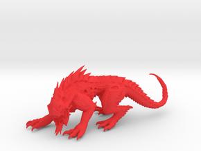 VorkaBeast 001 in Red Processed Versatile Plastic
