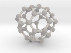 0038 Fullerene c36-10 c2 in Full Color Sandstone