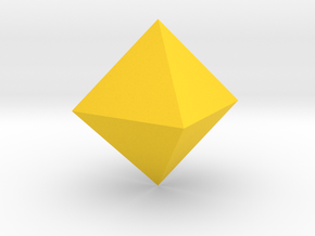 tron bit yes octohedron in Yellow Strong & Flexible Polished